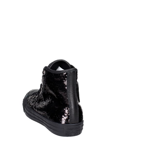 <Converse Shoes High Sneakers Black 559074C
