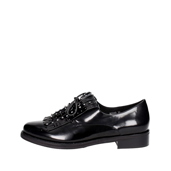 Luciano Barachini Shoes Parisian Black 9002D
