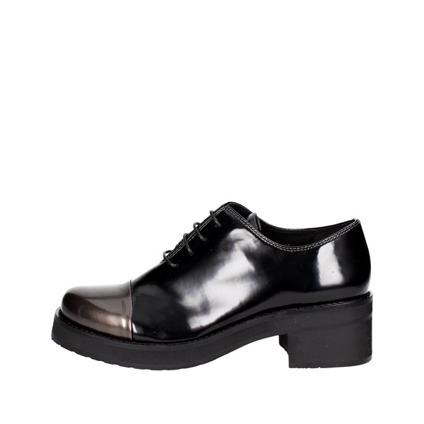 Luciano Barachini Shoes Parisian Black 9034B