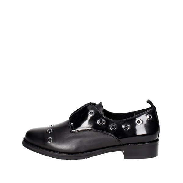 Luciano Barachini Shoes Parisian Black 9004B