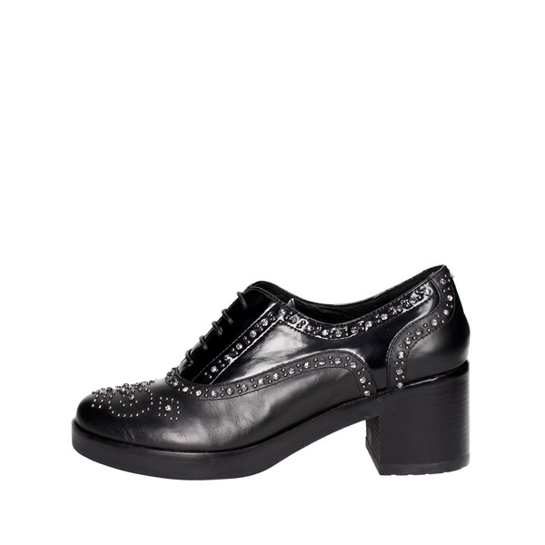 Luciano Barachini Shoes Parisian Black 9051A