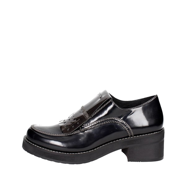 Luciano Barachini Shoes Parisian Black 9035C