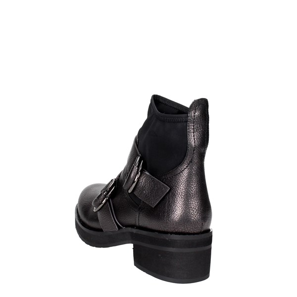 <Luciano Barachini Shoes Boots Black 9132C