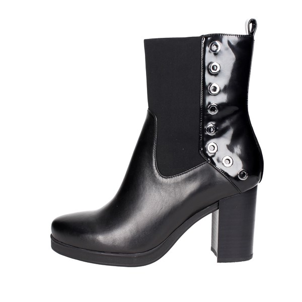 Luciano Barachini Shoes Ankle Boots Black 9163A