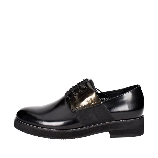 Luciano Barachini Shoes Brogue Black 9535A