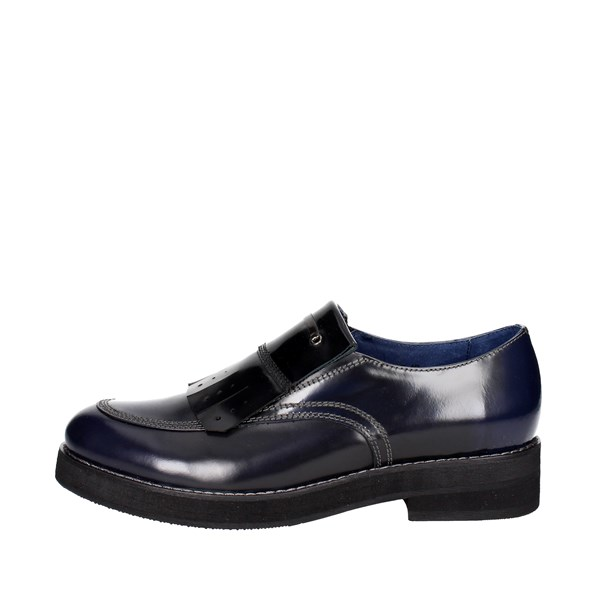Luciano Barachini Shoes Brogue Blue/Black 9532B