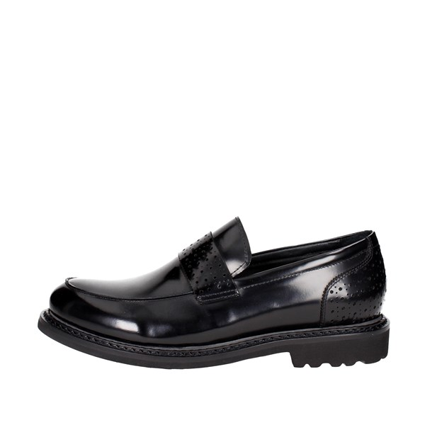 Luciano Barachini Shoes Loafers Black 9503A