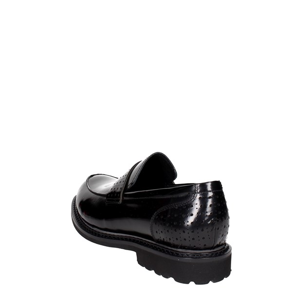 <Luciano Barachini Shoes Loafers Black 9503A