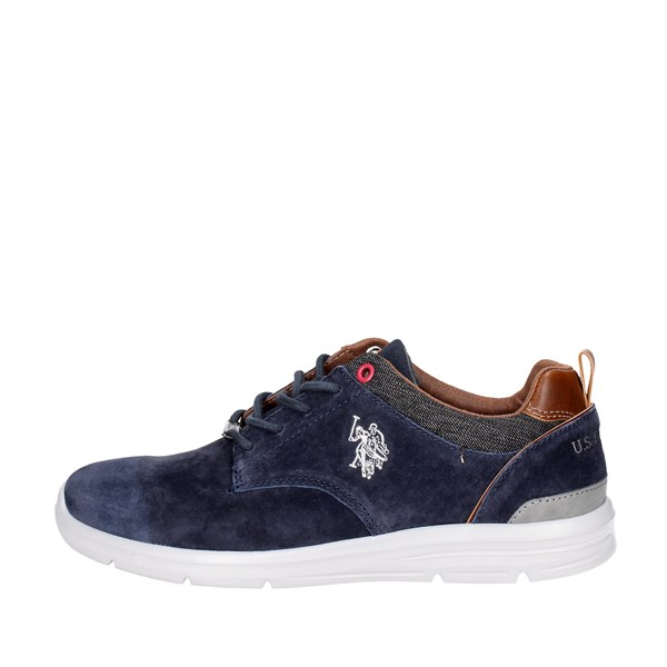 U.s. Polo Assn Shoes Low Sneakers Blue WALDO4004W7/S1