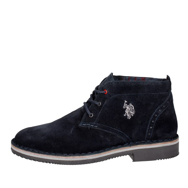 U.s. Polo Assn Shoes High-laced Boots Blue WALT3036W7/S1