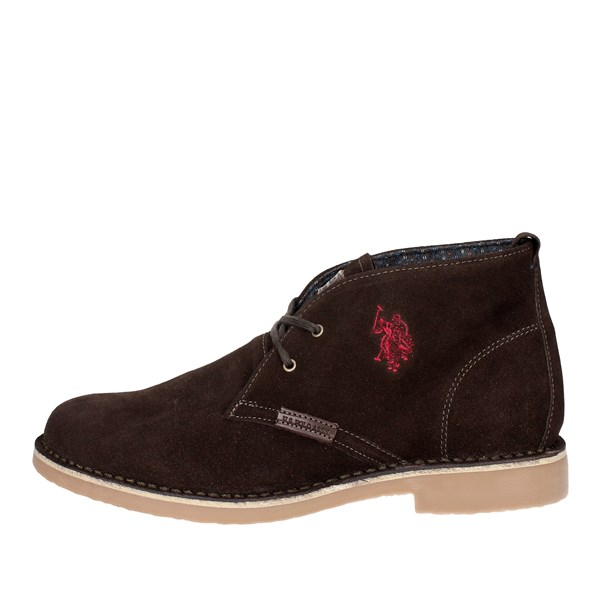U.s. Polo Assn Shoes High-laced Boots Brown MUST3119S4/S13