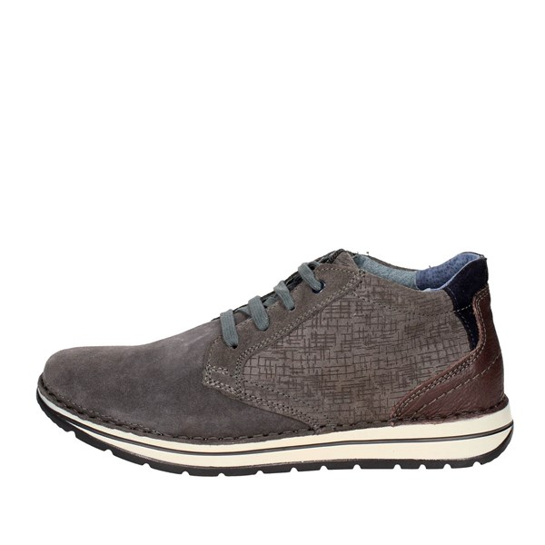 Zen Shoes Laced Grey 577391