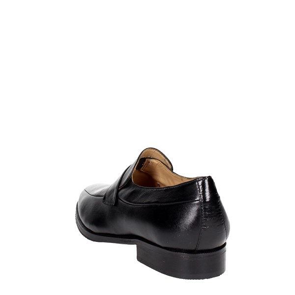 <Fontana Shoes Moccasin Black 5575-N