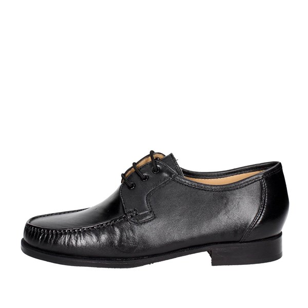 Fontana Shoes Comfort Shoes  Black 3150-N