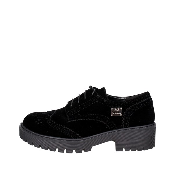 Braccialini Shoes Brogue Black B118P