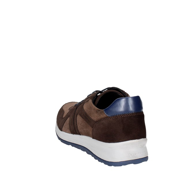 <Stonefly Shoes Low Sneakers Brown 107735 M50