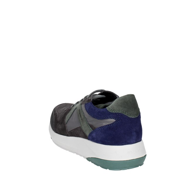 <Stonefly Shoes Low Sneakers Grey/Green 107786 S72