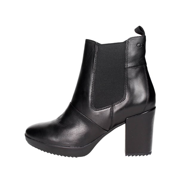 Stonefly Shoes Ankle Boots With Heels Black 107340 000