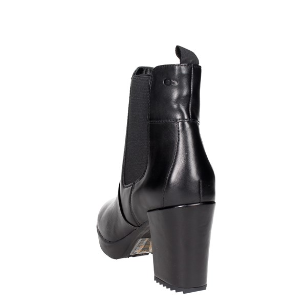 <Stonefly Shoes Ankle Boots With Heels Black 107340 000