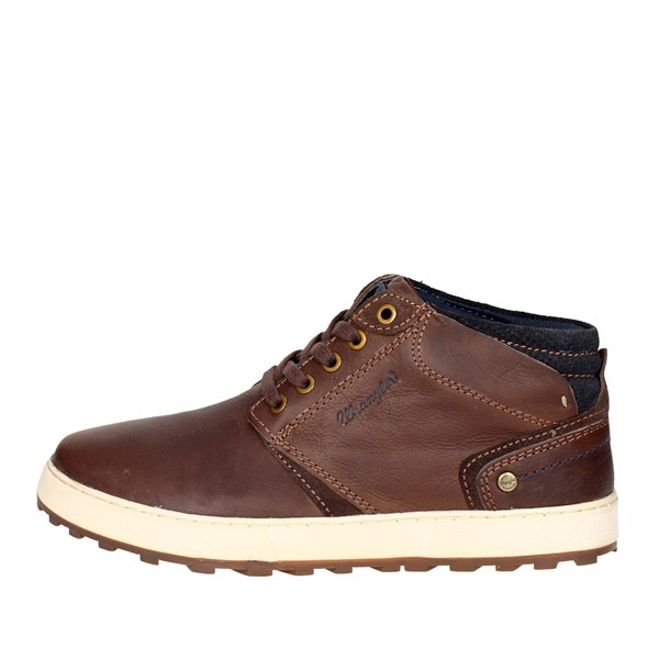 Wrangler Shoes Laced Brown WM172170