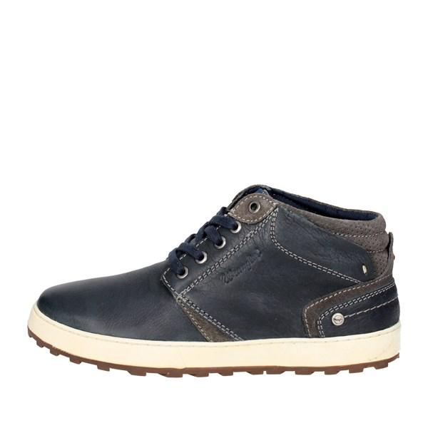 Wrangler Shoes Laced Blue WM172170