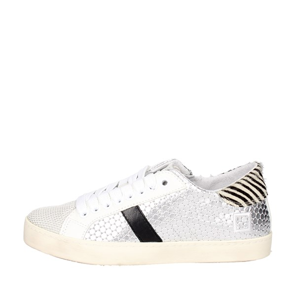 D.a.t.e. Shoes Low Sneakers Silver HILL LOW 3-3B
