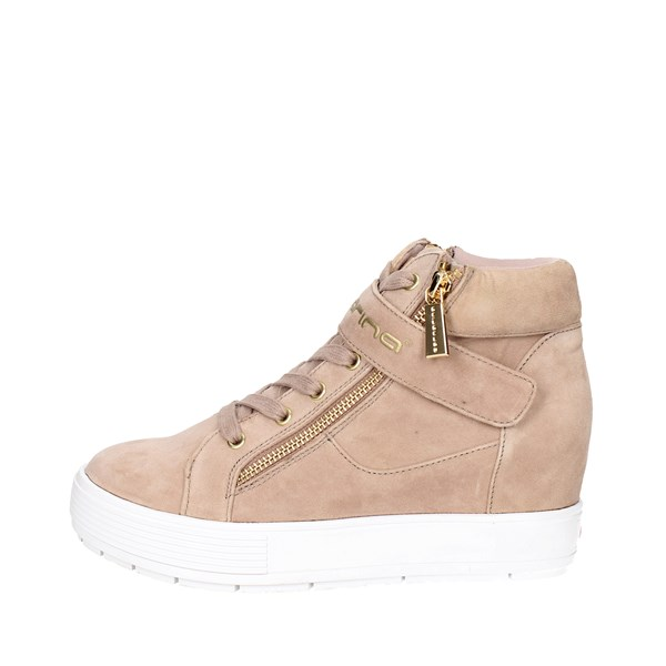 Fornarina Shoes Sneakers Beige PE17MJ9606S067