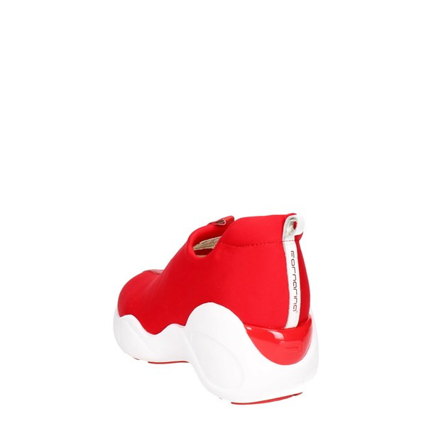 Fornarina Shoes Sneakers Red PEFUP9540WLA7600