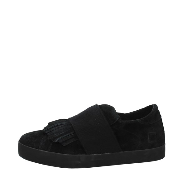 D.a.t.e. Shoes Slip-on Shoes Black I17-41