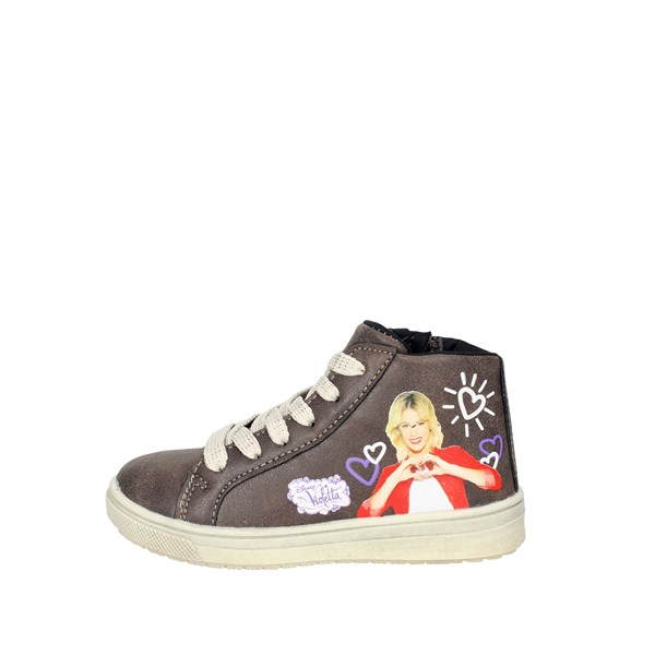 Disney Violetta Shoes Sneakers Brown Taupe VIO4013