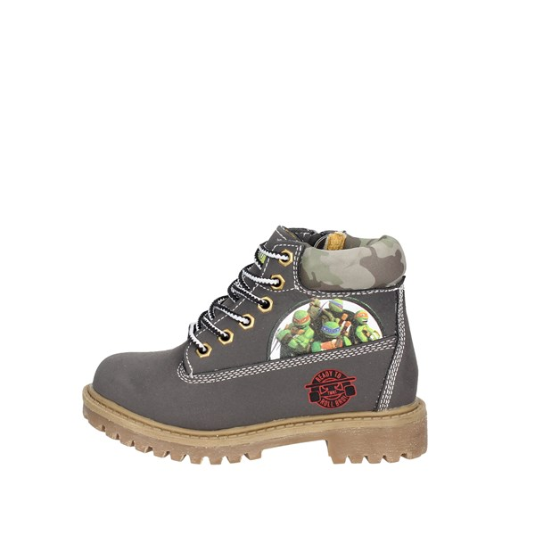 Turtles Shoes Boots Grey TNT6053