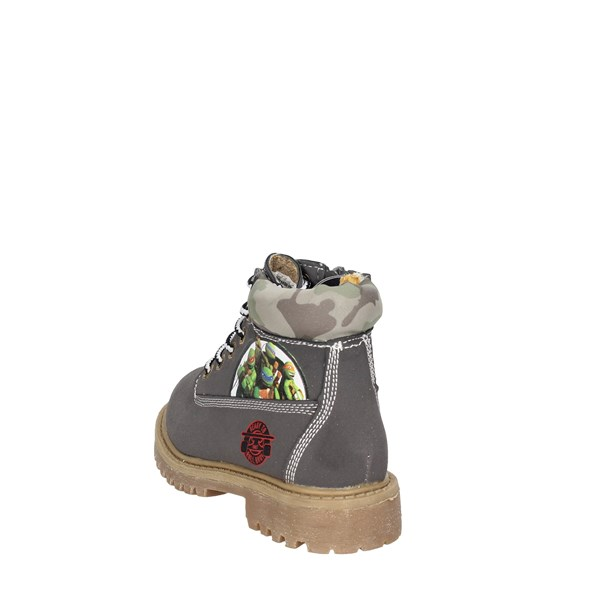 <Turtles Shoes Boots Grey TNT6053