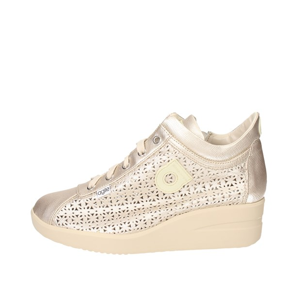 Agile By Rucoline  Shoes Sneakers Gold 226(E)