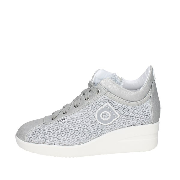 Agile By Rucoline  Shoes Sneakers Silver 226(P)