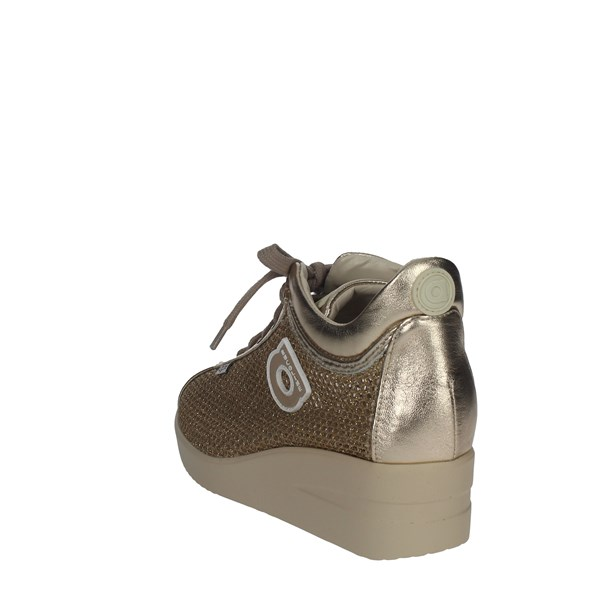 Agile By Rucoline  Shoes Sneakers Gold 226(M)