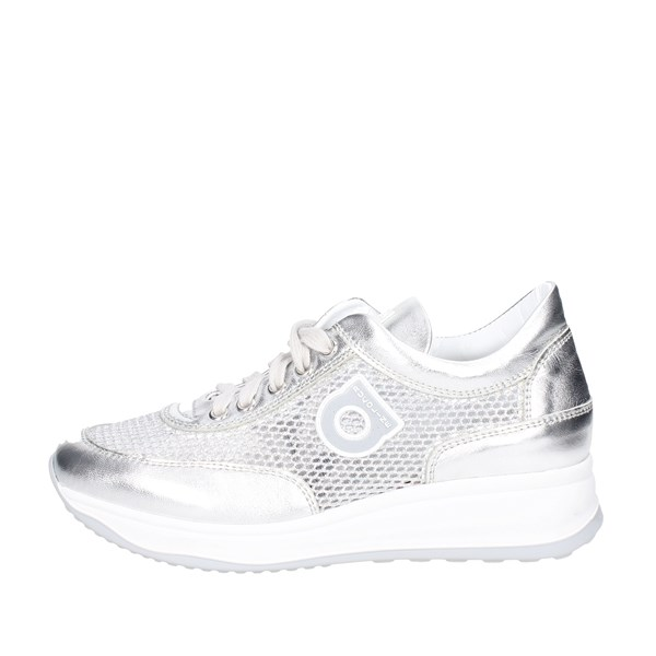Agile By Rucoline  Shoes Sneakers Silver 1304(S)