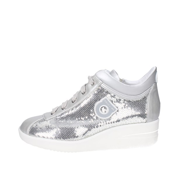 Agile By Rucoline  Shoes Sneakers Silver 226(Z)