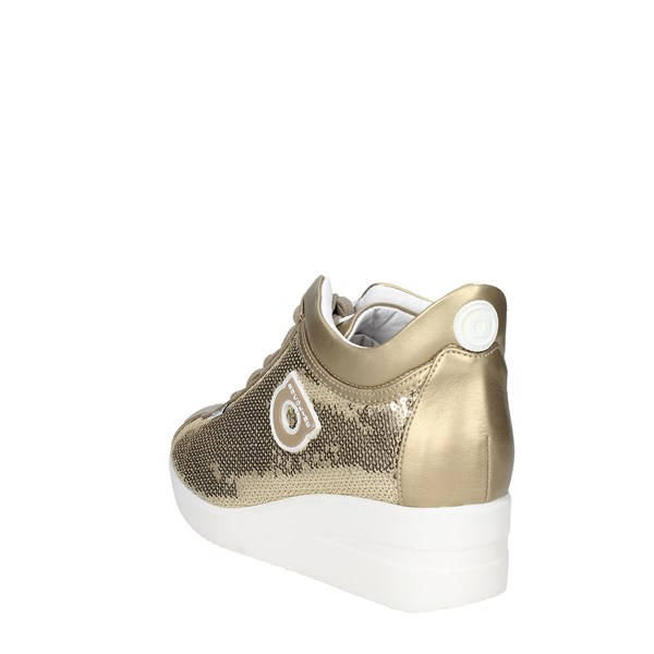 Agile By Rucoline  Shoes Sneakers Gold 226(A5)