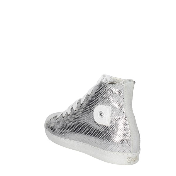 Agile By Rucoline  Shoes Sneakers Silver 2812(A6)