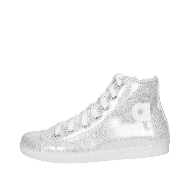Agile By Rucoline  Shoes Sneakers Silver 2812(A7)