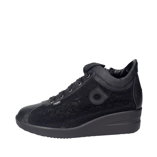 Agile By Rucoline  Shoes Sneakers Black 226(A18)