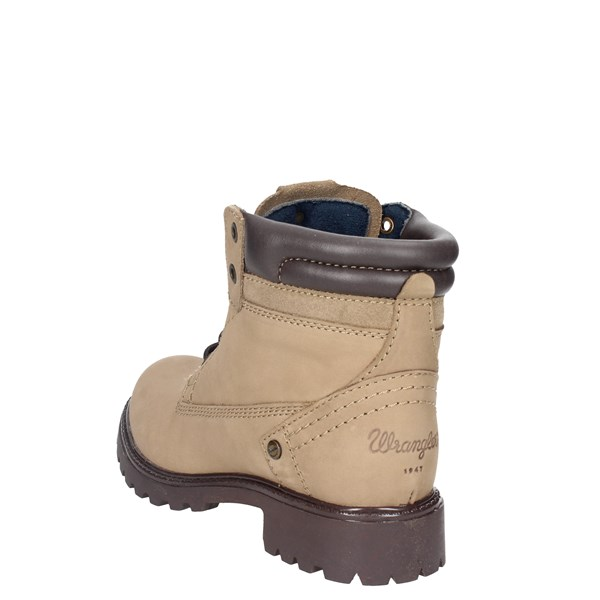 <Wrangler Shoes Boots Brown Taupe WL172500