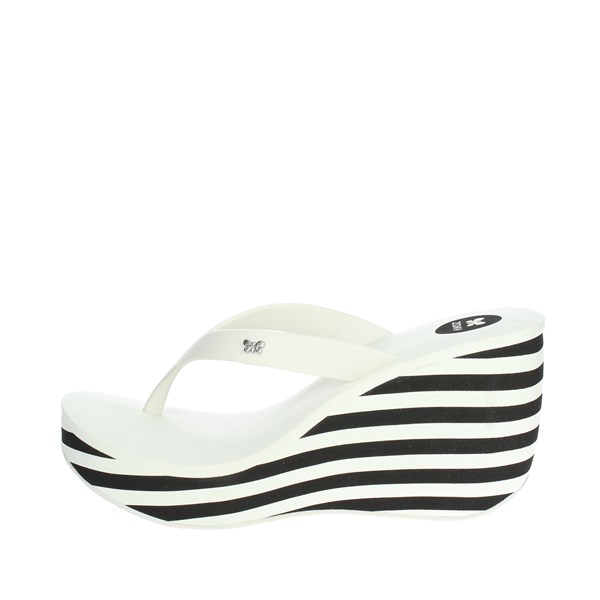 Zaxy Shoes Flip Flops White 81975 22504