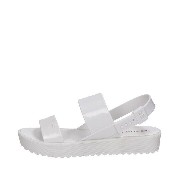 Zaxy Shoes Sandal White 17222 90115