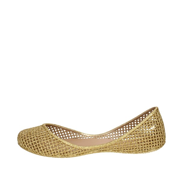 Zaxy Shoes Ballet Flats Gold 81982 06661
