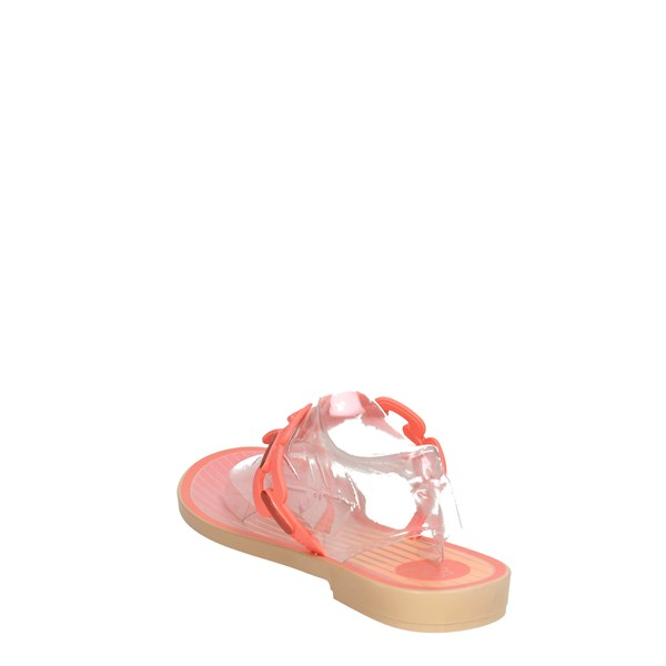 <Grendha Shoes Flops Coral 82180 90056