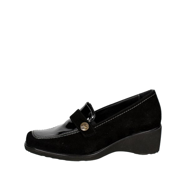 Sanagens Scarpe Donna Mocassino NERO 4497 S 006