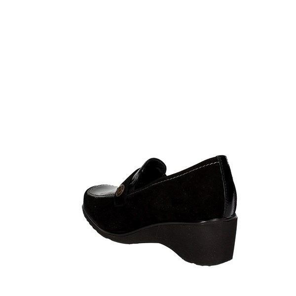 Sanagens Shoes Loafers Black 4497 S 006