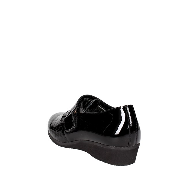 <Sanagens Shoes Loafers Black 3609 S 401