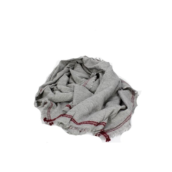 Gai Mattiolo Accessories Scarves Grey E105-1